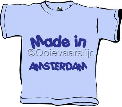 Baby T-shirt Made in ....