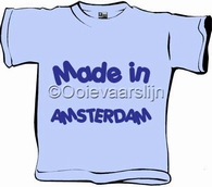 Baby T-shirt Made in .... maat 62