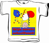 Baby T-shirt Schoolfeest